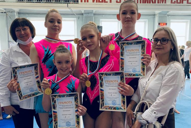 Первенство Челябинской области по спортивной акробатике
