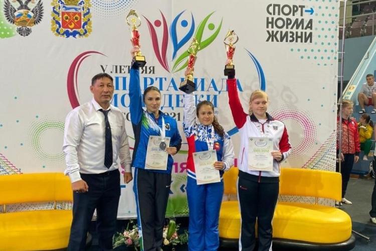 Спартакиада молодежи России по прыжкам на батуте