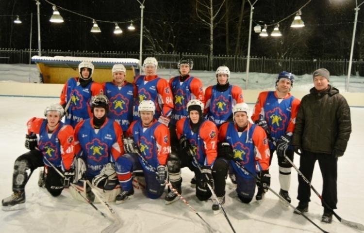 Финал городского турнира любительской хоккейной лиги
